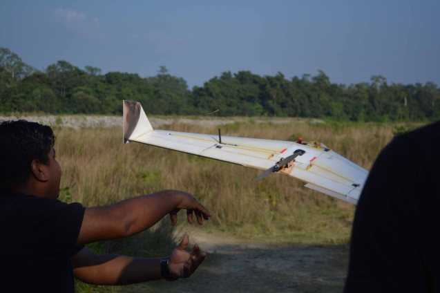 Vanguard taking off
